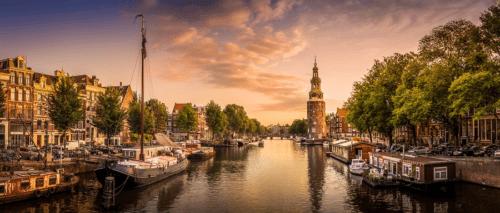 Verhuizen Amsterdam verhuiswagen