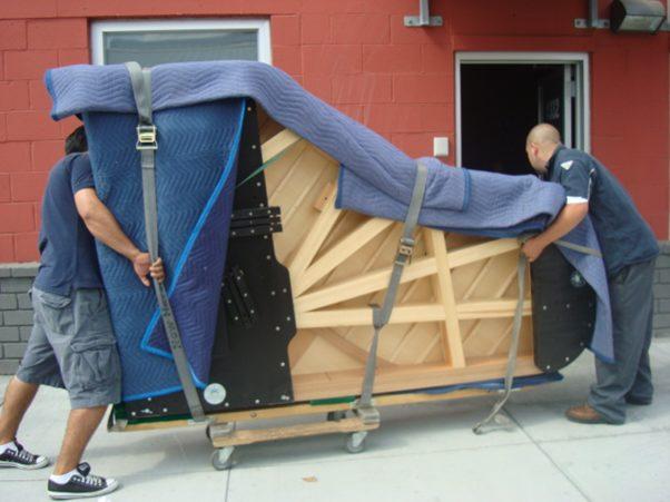 Piano verhuizen transport