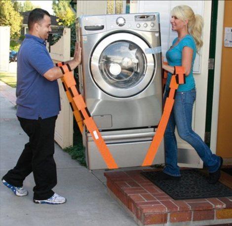 Wasmachine verhuizen tilbanden